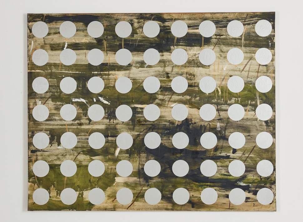 Kim Yong-Ik <Untitled>, 1992, Mixed media on canvas, 181.5x227cm, Courtesy of the artist and Kukje Gallery, Image provided by Kukje Gallery
