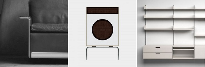 (좌부터) 620 Chair Programme, 1962, by Dieter Rams for Vitsœ