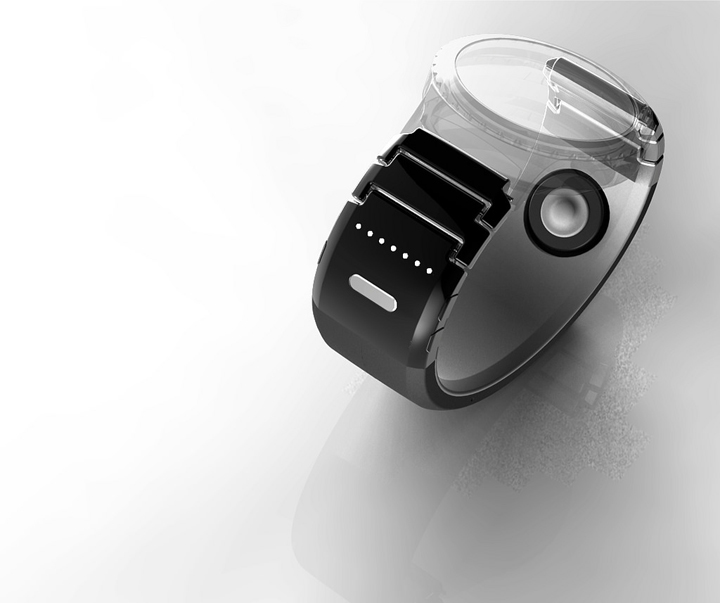 팁톡은 스마트 시계뿐만 아니라 아날로그 시계와도 호완이 가능한 디자인적 접근을 고민했다.