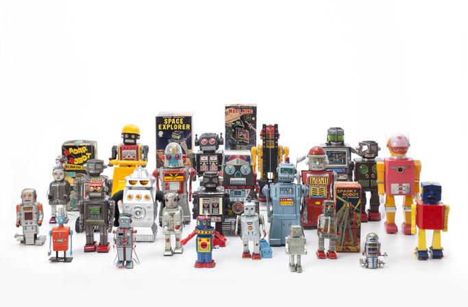 """""""로봇이 무엇인지 정의는 못하겠다. 그러나 로봇을 보면 로봇인지 알아차릴 수 있다""""고 미국의 산업용 로보틱스의 선구자 조셉 엥겔버거(Joseph Engelberger)는 위트 있는 농담을 했다. Image courtesy: Vitra Design Museum."""