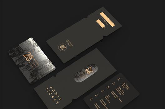 호텔 28의 브랜딩 디자인과 어플리케이션디자인