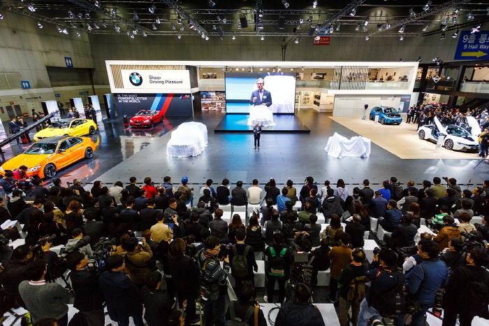 2017서울모터쇼 BMW 부스 현장