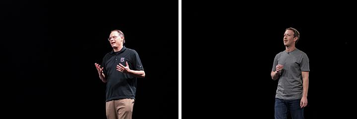 에픽 게임즈 창업자인 팀 스위니가 프레젠테이션을 진행하기도 했으며 마크 주커버그는 페이스북과 삼성전자의 파트너십 소식을 전달했다.