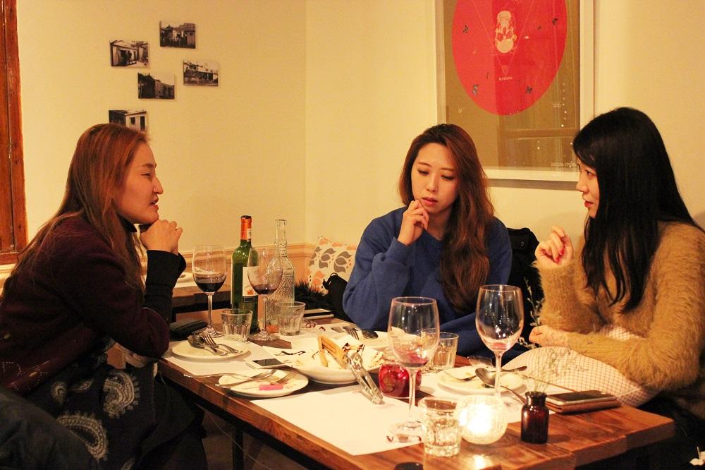 김시하(좌측), 양반김 김동희(가운데), 양반김 양진영(우측)