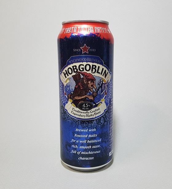 영국 맥주 홉고블린(HOBGOBLIN). 겉모습은 괴기스럽지만 알고보면 집안의 수호령으로 여겨지는 요정의 일종이다.
