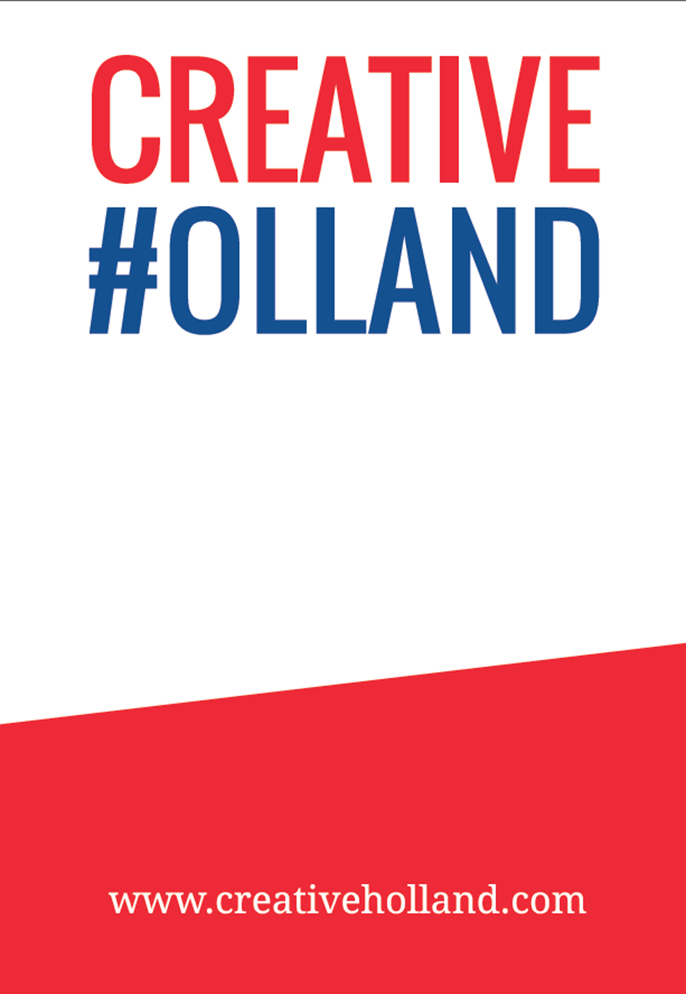 파트너 국가로 참여한 네덜란드의 포스터