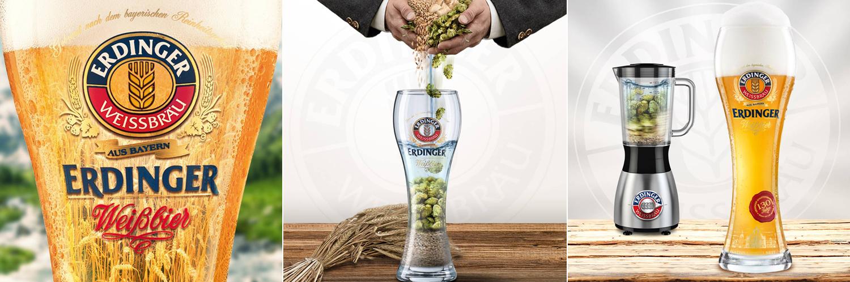 밀 함유량을 강조하는 광고 포스터