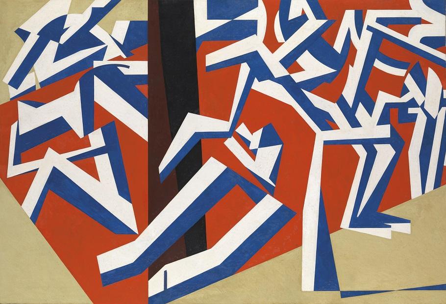 데이비드 봄버그 DAVID BOMBERG (1890–1957) 진흙 목욕탕 1914 / 캔버스에 유채 / 152.4 × 224.2 ㎝ The mud bath  1914 / oil paint on canvas Tate: Purchased 1964