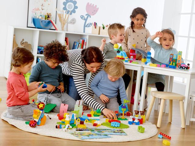 레고 에듀케이션이 유치원 교실에 STEAM 학습을 제안한다. (사진 제공: 레고 에듀케이션) ©2017 The LEGO Group
