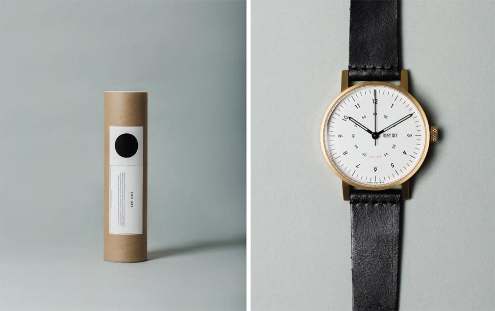 심플하고 간결한 패키지 디자인 ⓒ VOID WATCH