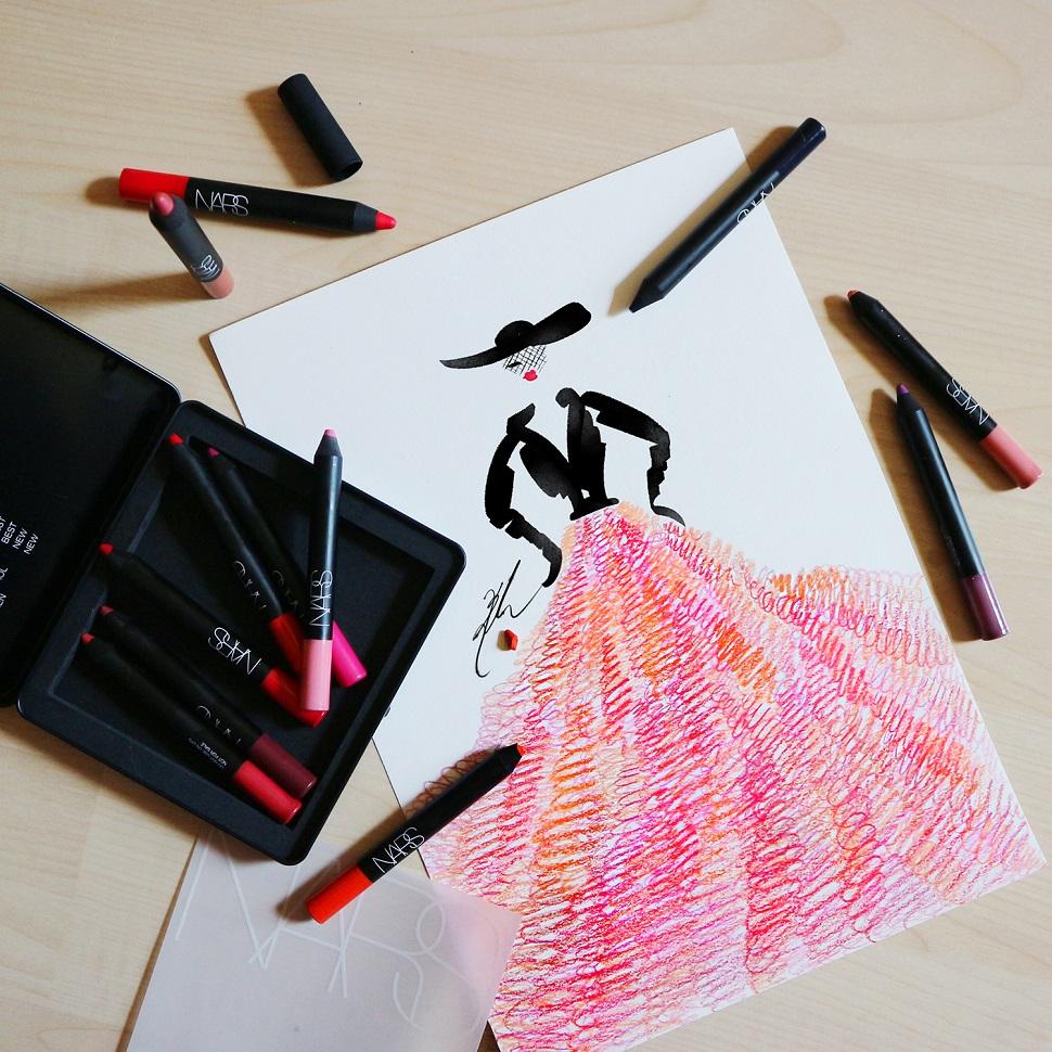 NARS Lip Crayon Dress©Dahee kim